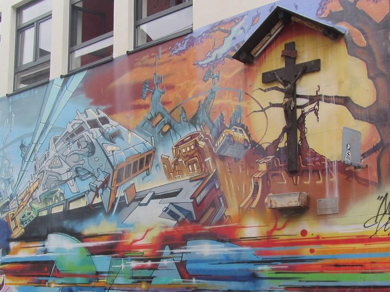 Le street Art à Liège