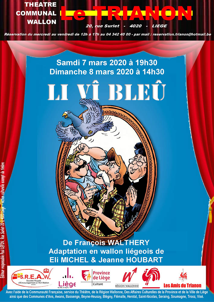 Spectacle en wallon: Li vî bleu