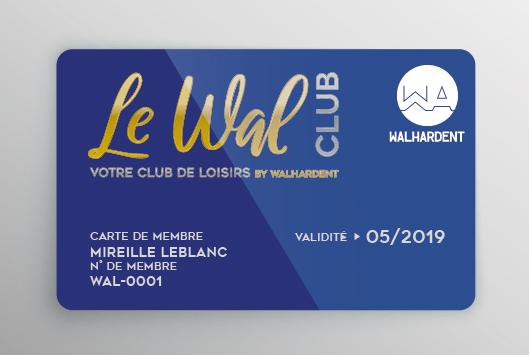 Devenir Membre du Walclub