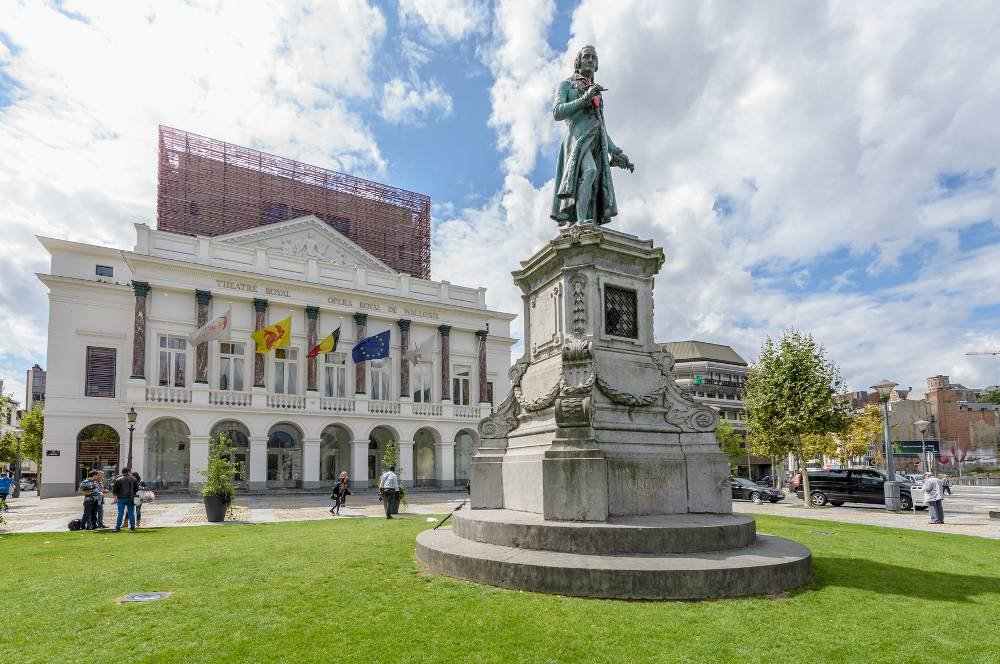 Visite de l'opéra de Wallonie.