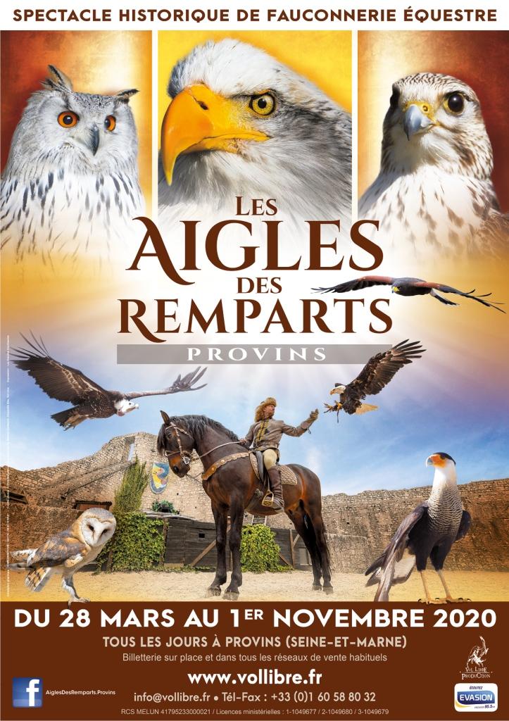 Aigles des Remparts + Légende des Chevaliers