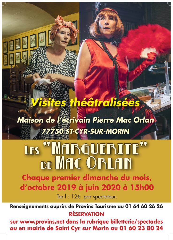 """LES """"MARGUERITE"""" DE MAC ORLAN"""