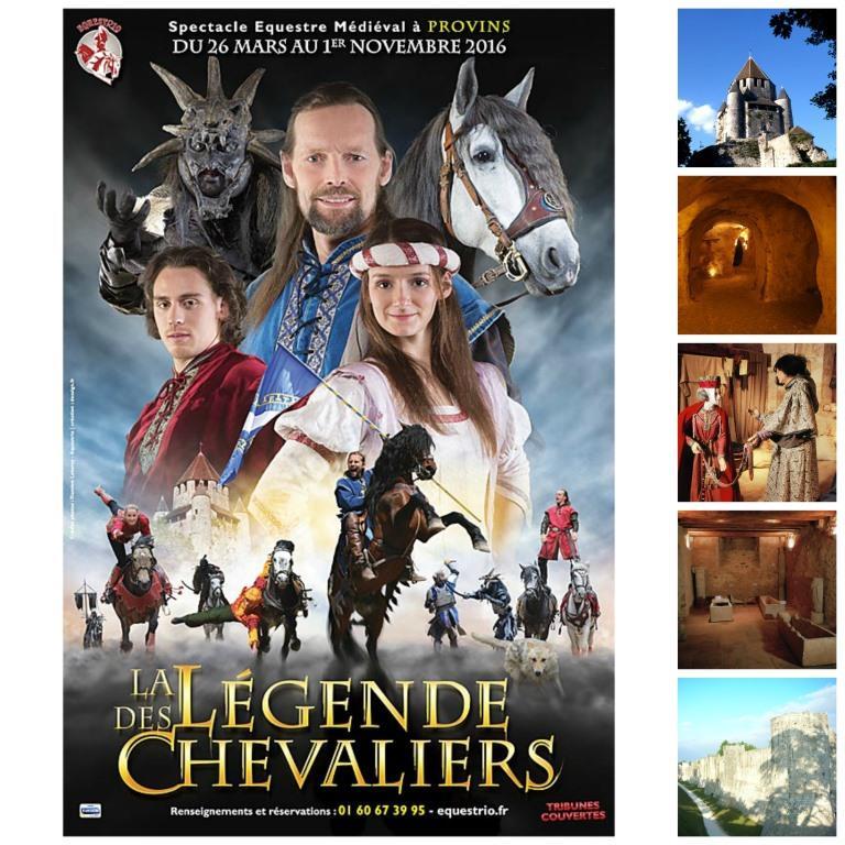 Pass Provins + Légende des Chevaliers