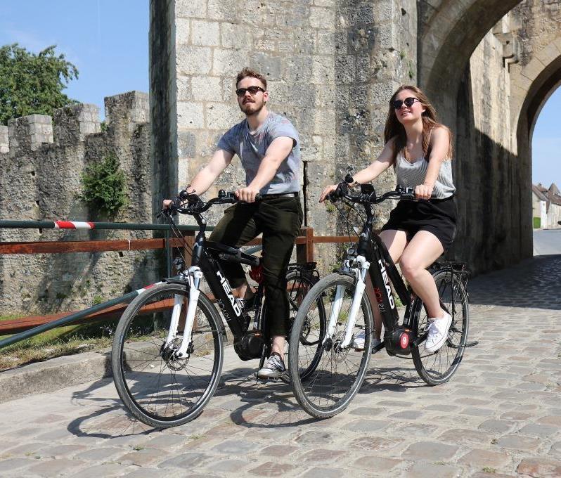 Balade commentée à Vélo