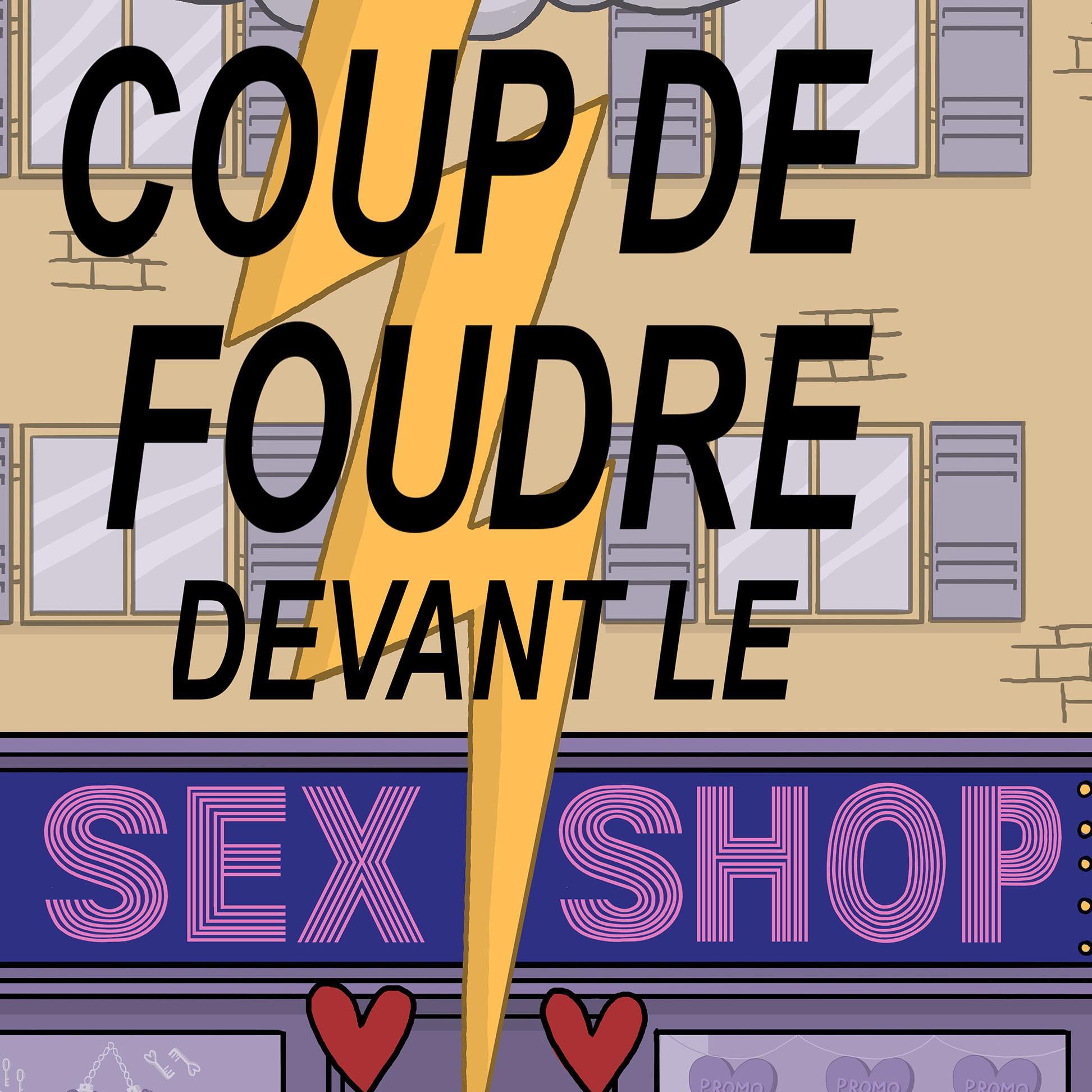 COUP DE FOUDRE DEVANT LE SEX SHOP