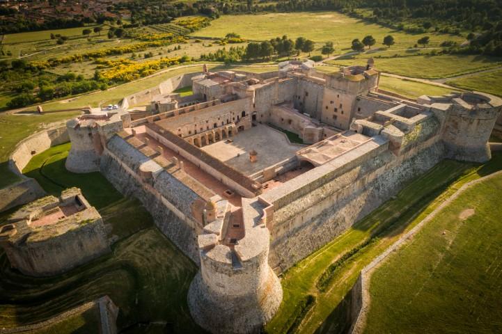 Billet jumelé Forteresse de Salses - Fort Saint-Elme