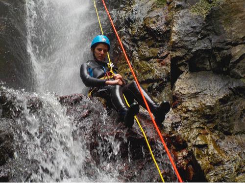 Canyon d'eau chaude de Thuès-Entre-Valls