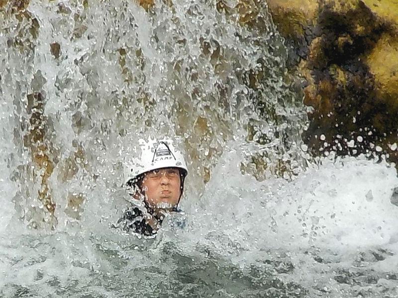 Canyoning Gorges de Galamus (Famille)