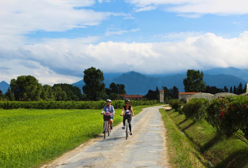Boucle touristique à vélo dans les Albères