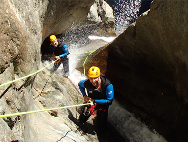 Canyoning au Gourg des Anelles (sportif)
