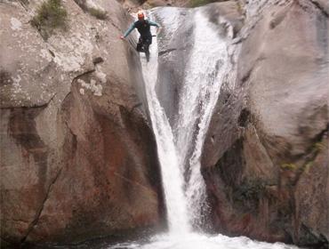 Canyoning au Llech (sportif)