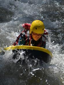 Hydrospeed sportif