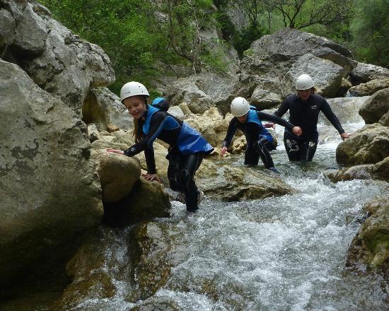 Canyoning dans les Gorges de Galamus (découverte)