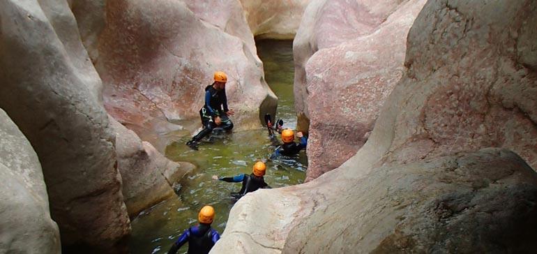 Canyoning à Termes (découverte)