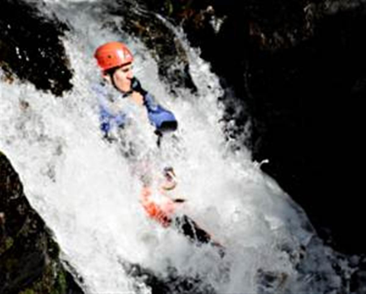 Canyon en eau chaude