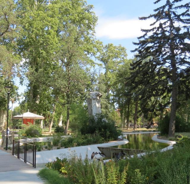 Visite sensorielle du square Bir Hakeim