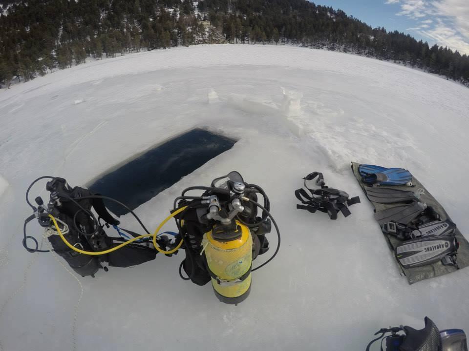 Rédéris Plongée : Plongée sous glace
