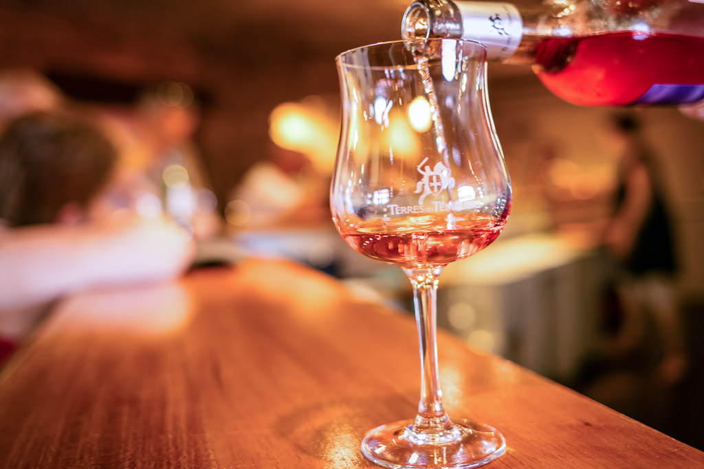Dégustation vins de Collioure et Banyuls
