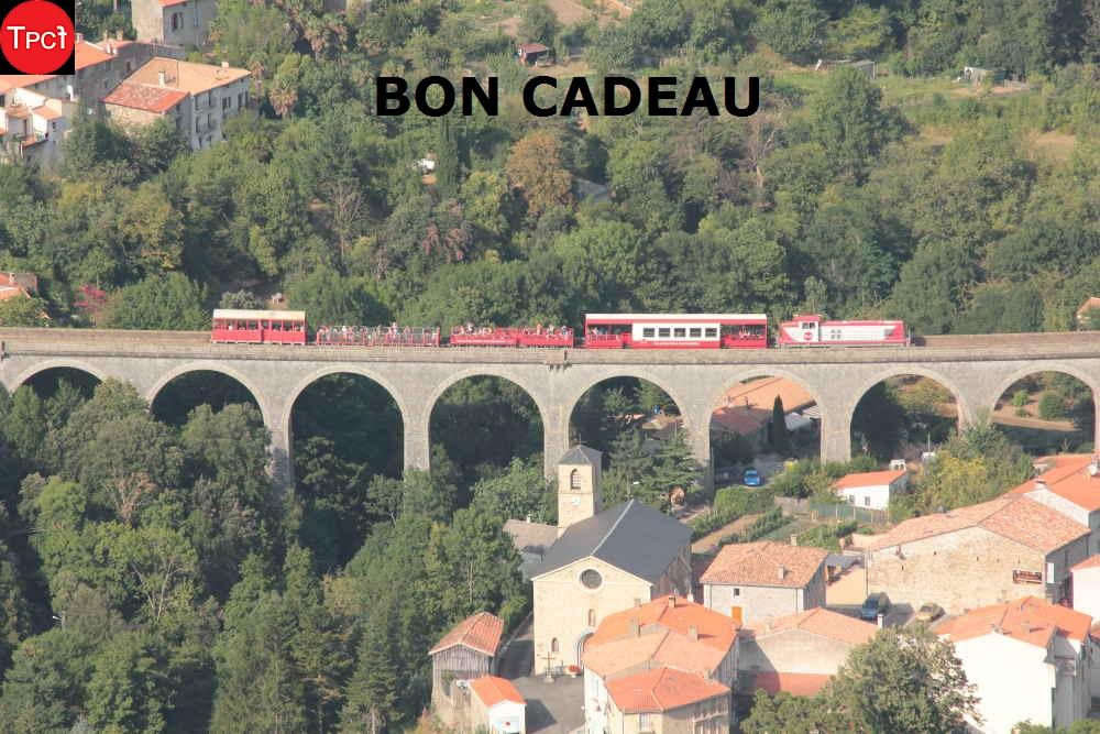"""Bon cadeau """"Le Parcours des Viaducs et du Fenouillèdes"""""""