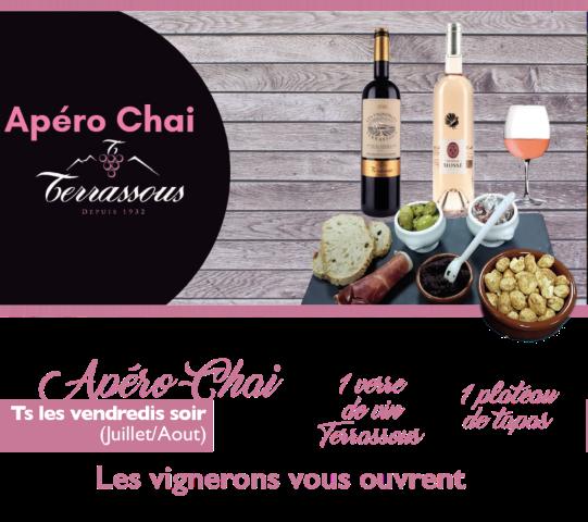 Apéro Chai Terrassous