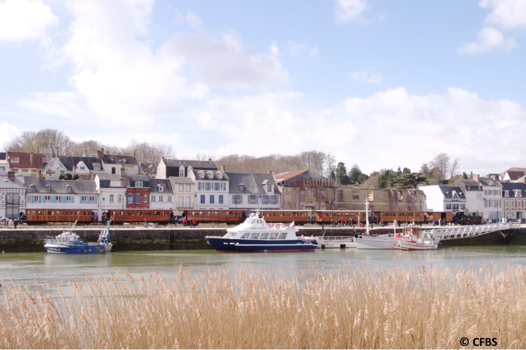 De Rails en vagues (départ St Valery - bateau)