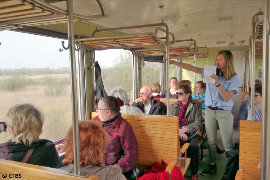 Voyage en train Commenté : Saint-Valery-sur-Somme > Le Crotoy
