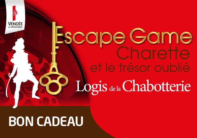 BON CADEAU - Escape Game Logis de La Chabotterie