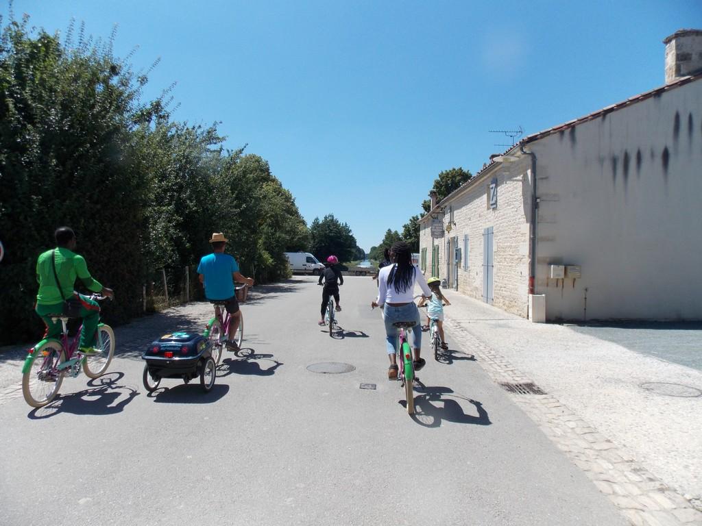 Balade vélo de l'Abbaye de Nieul sur l'Autise