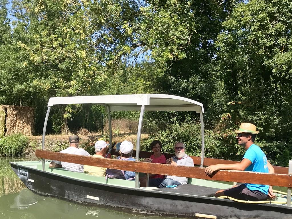 Balade journée - vélo barque - Balade au fil de la Sèvre Niortaise